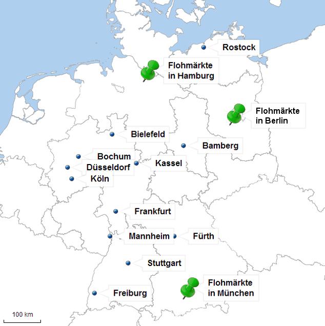 Flohmärkte in Deutschland