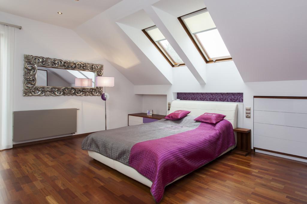 Dachgeschosswohnung Schlafzimmer